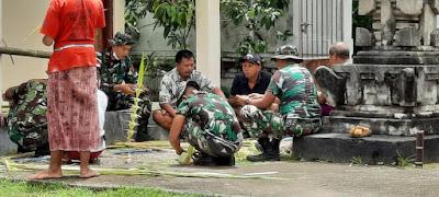 Dansatgas Pamtas RI-RDTL Sektor Timur Apresiasi Kerukunan Umat Beragama di Kabupaten Belu