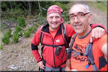 Tuio mendiaren gailurra 805 m. -- 2017ko uztailaren 25ean