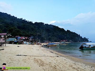 Tips Belanja RM180 Untuk 2 Hari 1 Malam di Pulau Perhentian
