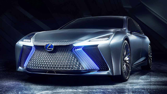 Lexus LS+ Concept automated driving technology for 2020