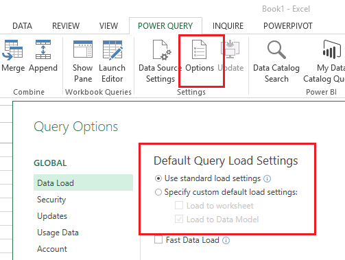 Dinesh's Blog :::: Being Compiled ::::: Loading Power Query