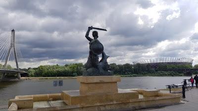 Sirena varsovia del puente Świętokrzyski