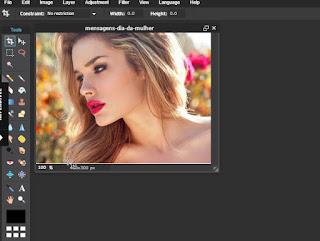 Photoshop online copia e cola