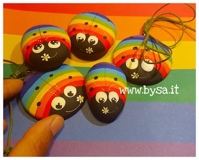 coccinelle arcobaleno gaypride