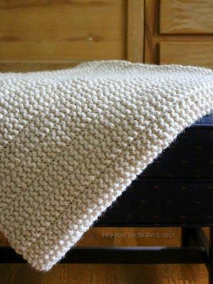 Fifty Four Ten Studio The Boulevard Blanket New Free Knitting Pattern