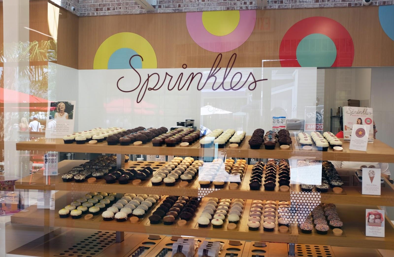 Cupcakes at Sprinkles, Disney Springs