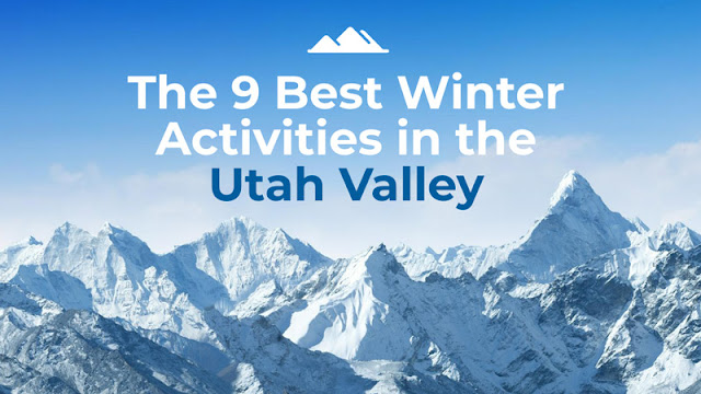 The 9 Best Winter Activities in Utah Valley blog cover image