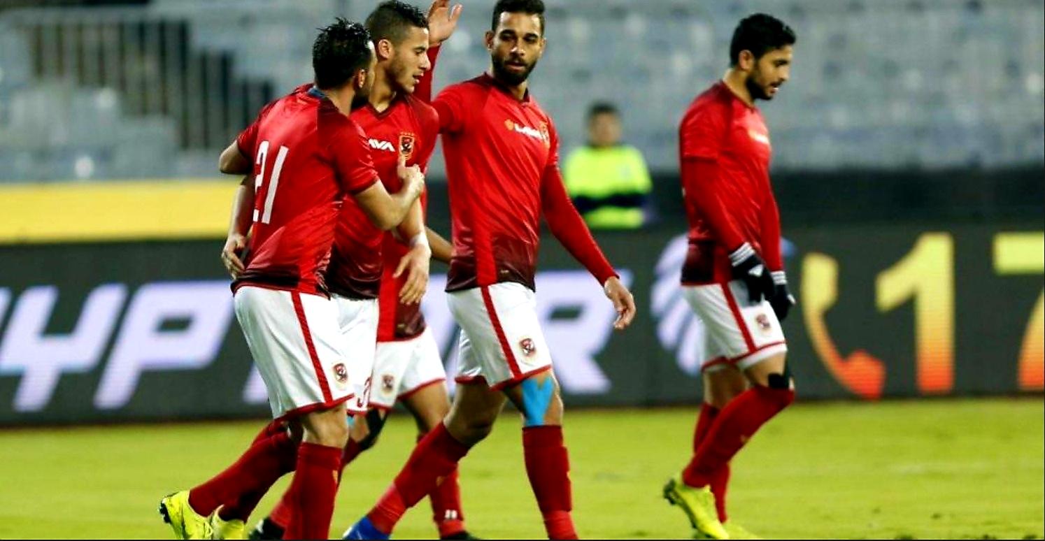 ملخص وأهدف مباراة الأهلي وسموحة في الدوري المصري