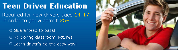 Drivers Ed Course Online to earn Your Learner's Permit or