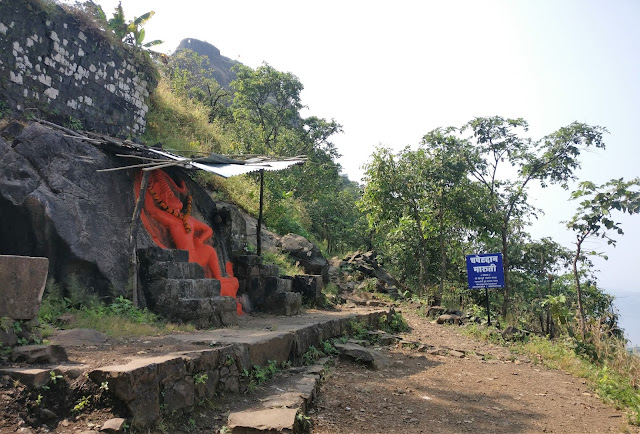Tikona fort trek, Lord Hanuman