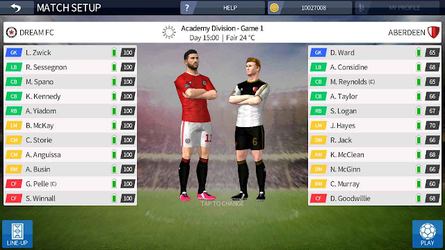 cheat dream league soccer unlimited player development