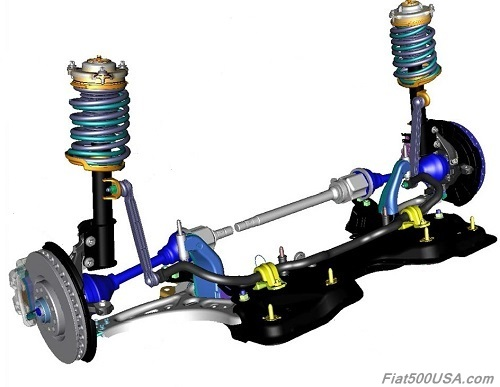 Fiat 500X Front Suspension