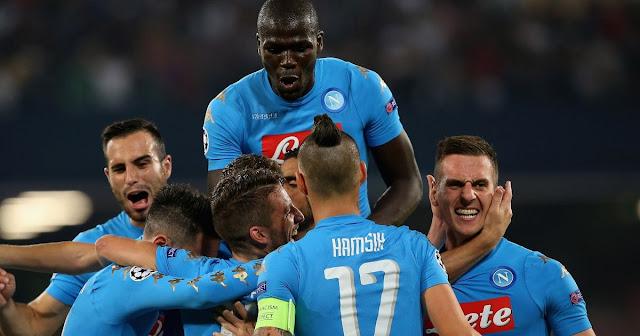 SSC Napoli Ligue des Champions