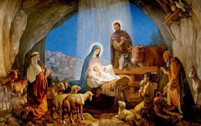 Homilia na Uroczystość Bożego Narodzenia (C) – Pasterka – Bóg jest z nami.