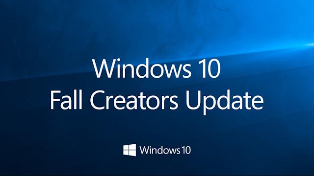 الحصول على تحديث Fall Creators Update لويندوز 10
