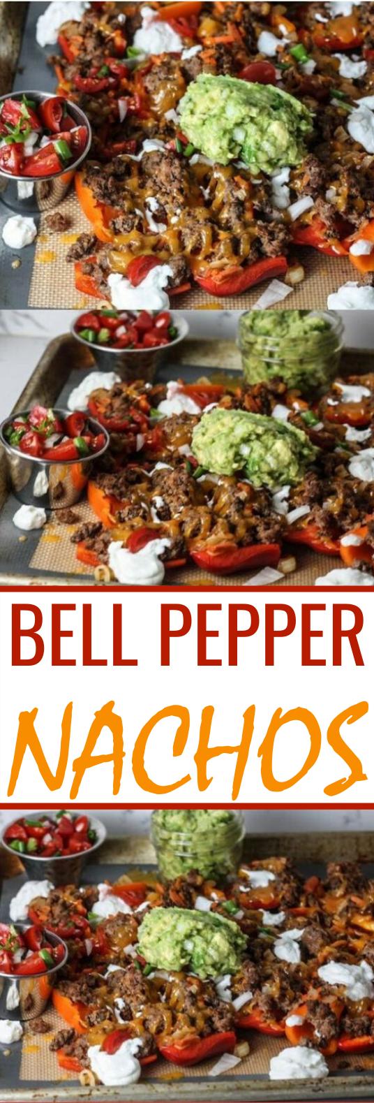 Bell Pepper Nachos #keto #lowcarb #dinner #diet #lunch