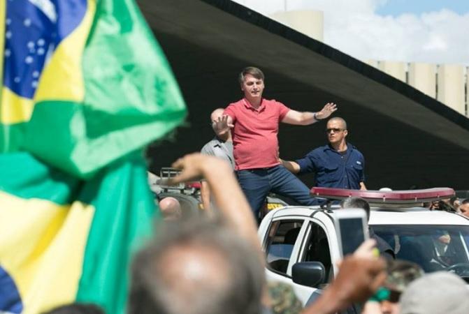 'Poderes são submissos ao povo', diz Bolsonaro a manifestantes neste domingo - Portal Spy Noticias