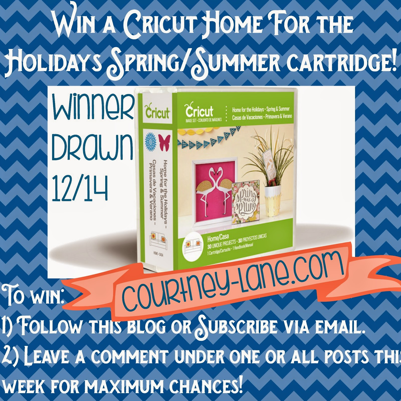 win a Home for the holidays cartridge