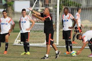 Marcelo Buarque trabalhou na base do Flamengo