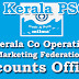 Accounts Officer-Kerala Co Operative Milk Marketing Federation LTD