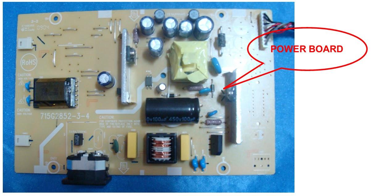 BenQ LCD G922HD  MAIN POWER SUPPLY  SCHEMATIC DIAGRAM