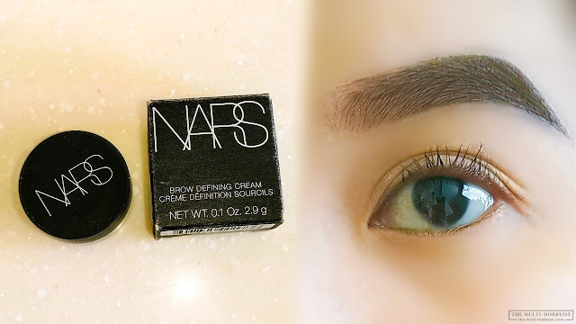 How I Get Perfect Eyebrows | NARS Brow Defining Cream review