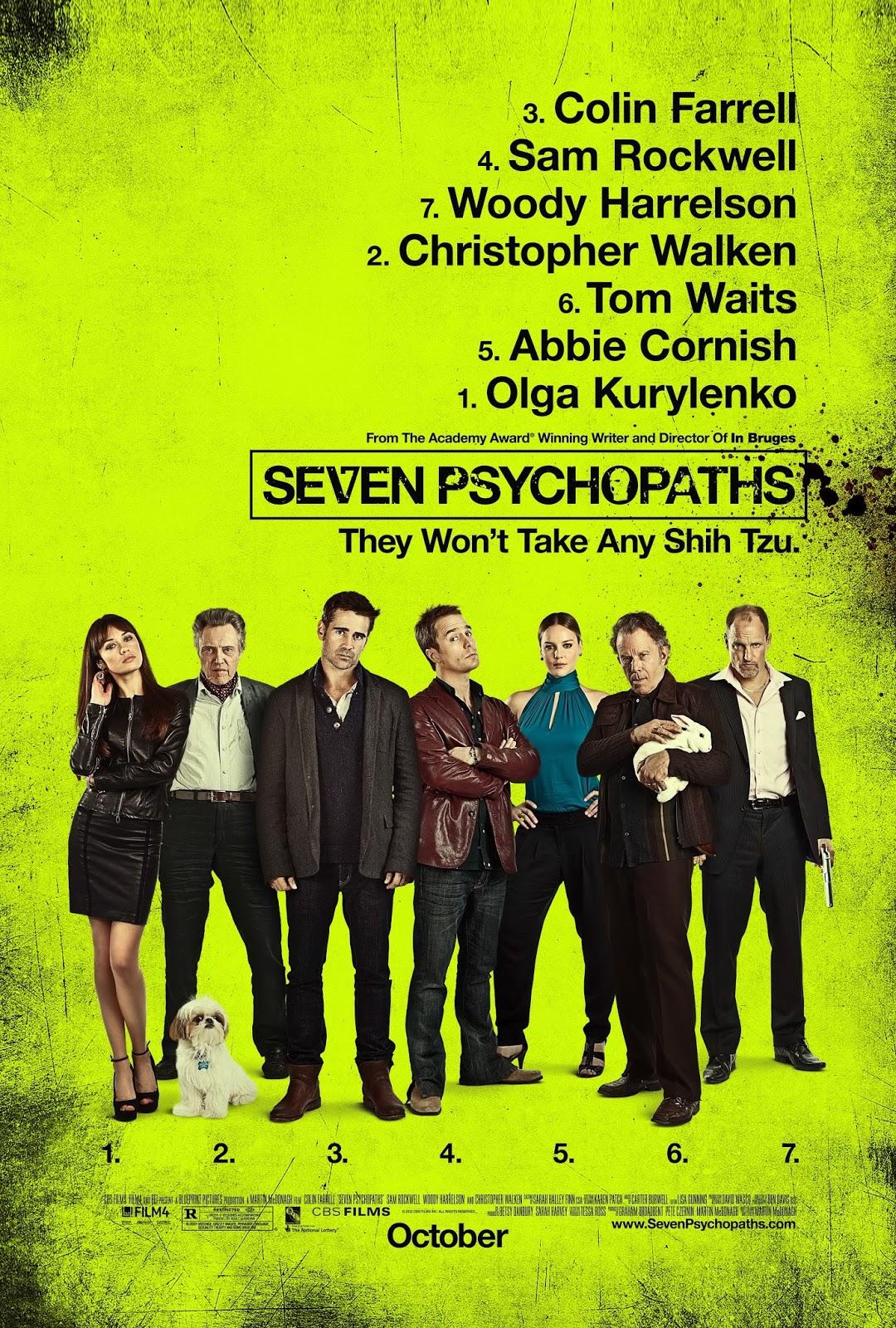 Las pelculas que yo veo una pgina de cine siete psicpatas cartel malvernweather Image collections