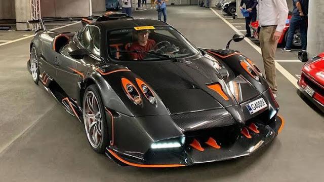 Most Expensive Cars - Pagani Huayra Imola