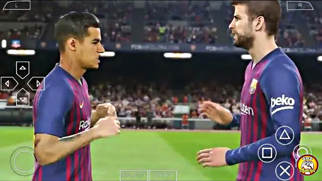 Download Now PES 2019 New Camera PS4 With Commentary Android/PPSSPP