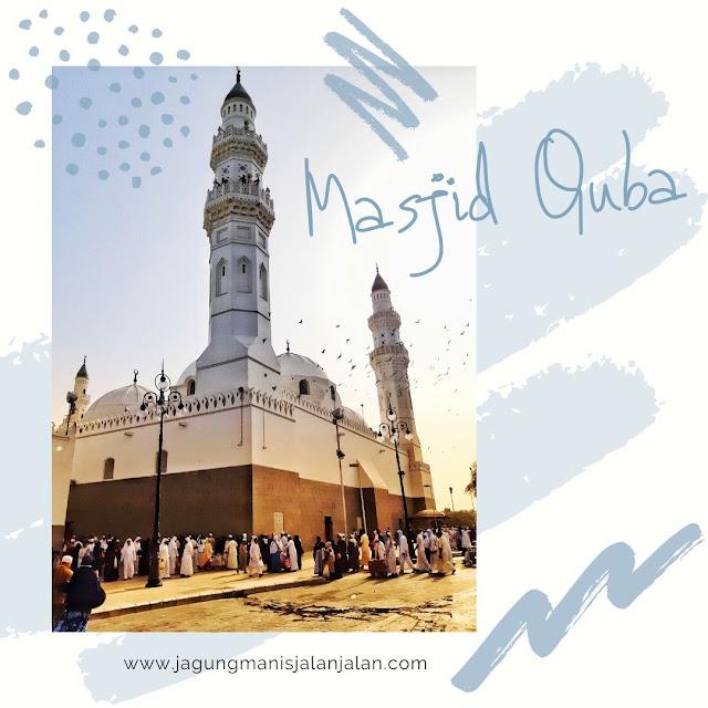 Ziarah ke Masjid Quba di Madinah