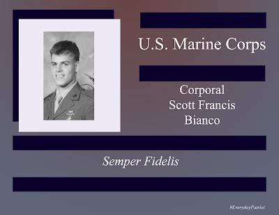 A short biopic of U.S. Marine Corps Corporal Scott Francis Bianco - Desert Storm / Desert Shield - Persian Gulf War