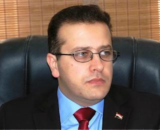 وزير التربية العراقية ( محمد اقبال عمر)