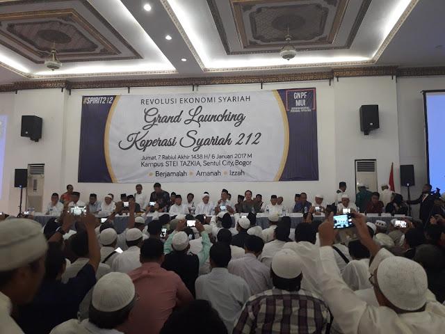 Bangkitkan Ekonomi Umat, MUI Dukung Peluncuran Koperasi Syariah 212