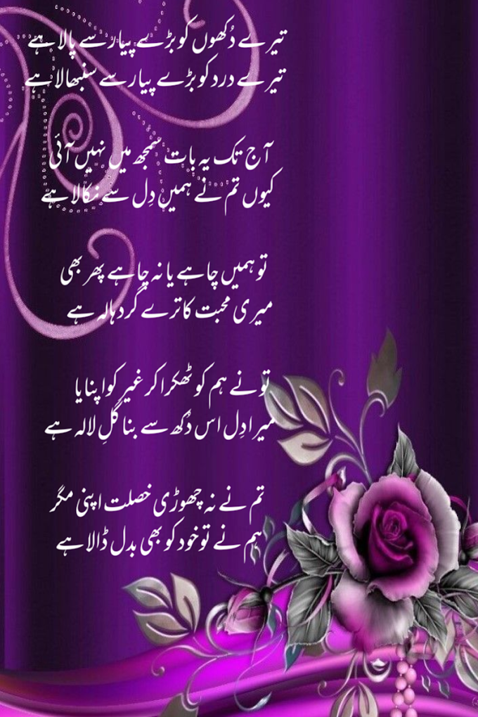 اردو غزل- میری اردو ڈائری