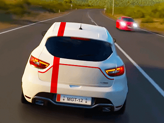 Otoban Yarışı Araba Oyunu