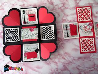 explosion box per san valentino