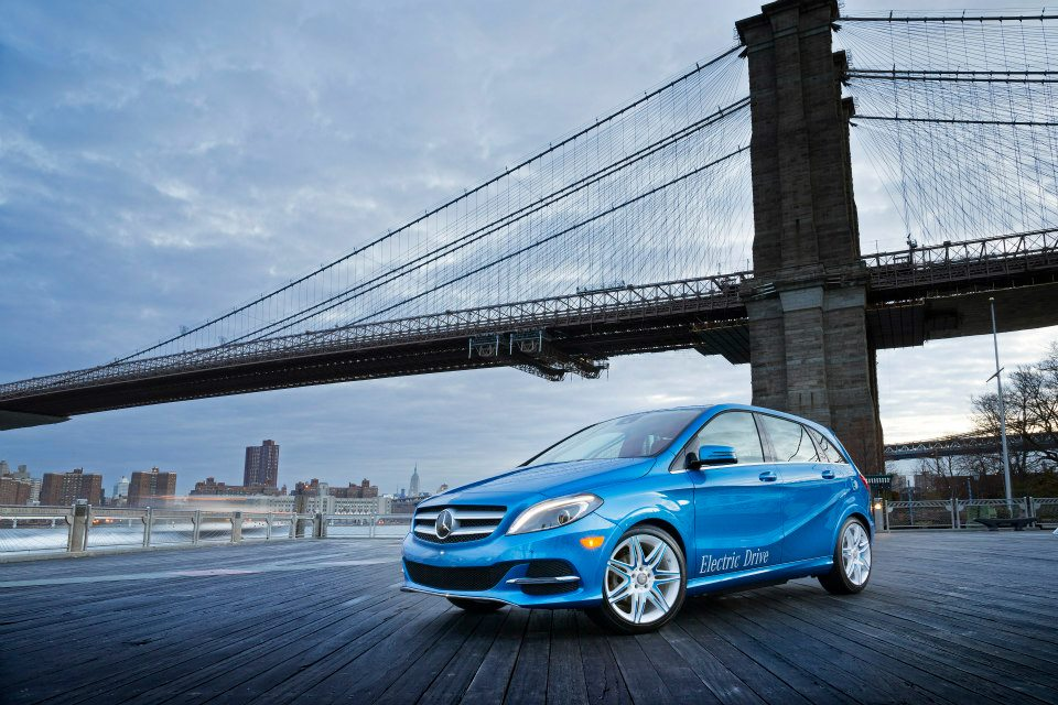 Coming To The US In Early 2014 Will Be The All Electric B Class. This Car  Is The Result Of A Partnership Between Daimler And Tesla, Which Means The  Lithium ...