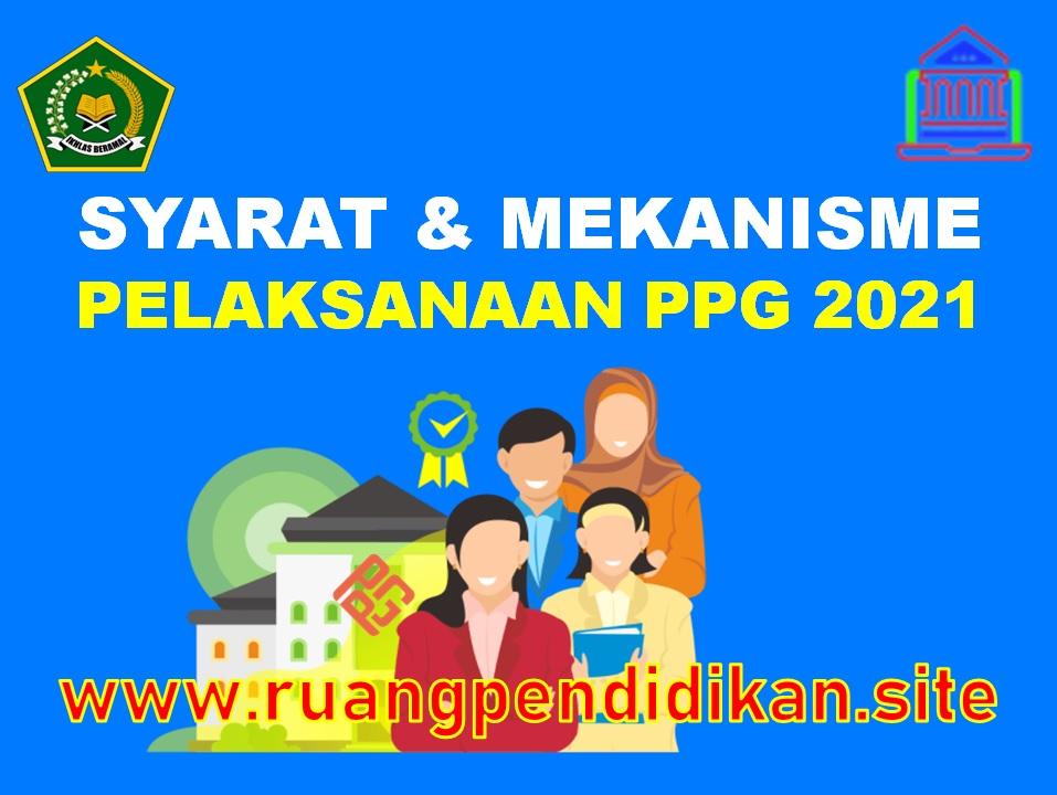 Pelaksanaan PPG Kemenag Tahun 2021