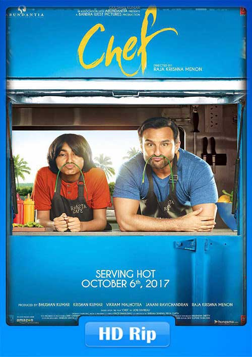 Chef 2017 Hindi 480p HDRip 400MB x264 Poster