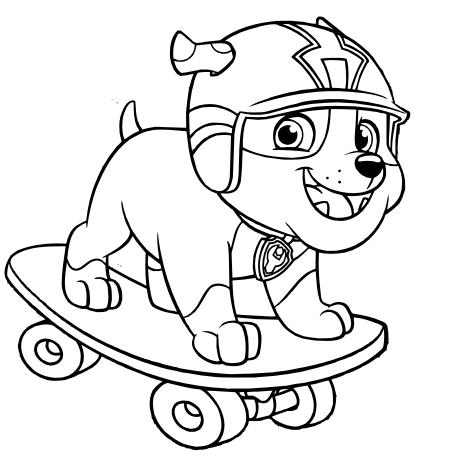 Ideas Y Material Para Fiestas Y Candy Bar Dibujos De Paw Patrol