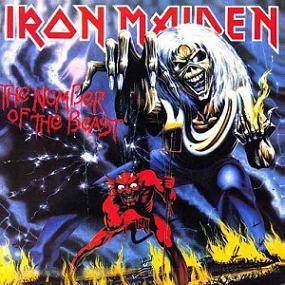 portada del disco de Iron Maiden 'the number of the beast'