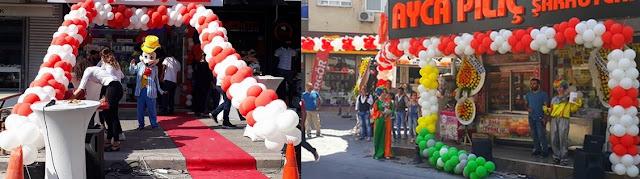 İzmir açılış organizasyonu örnek resimlerimiz