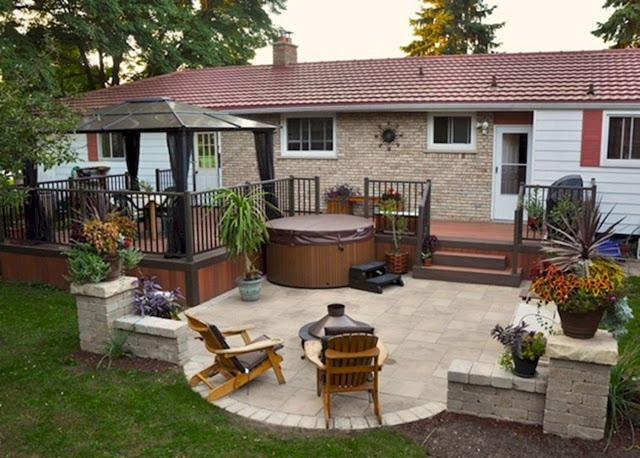Diy Patio ideas budget at backyard
