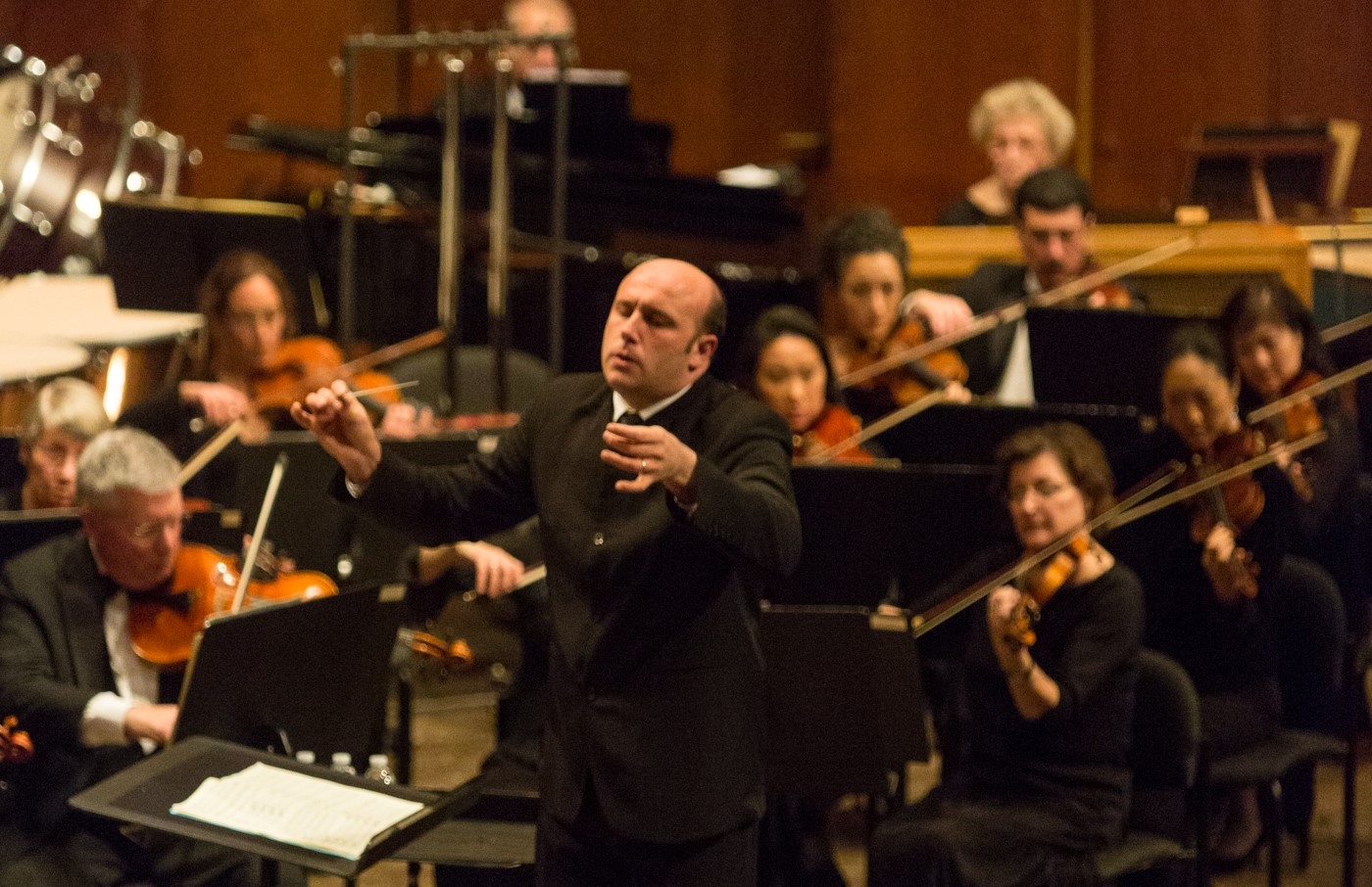 ARTS IN ACTION: Italian conductor RICCARDO FRIZZA, débuting at Lyric Opera of Chicago in Vincenzo Bellini's NORMA on 28 January 2017 [Photo from the 2013 Richard Tucker Gala © by Dario Acosta]