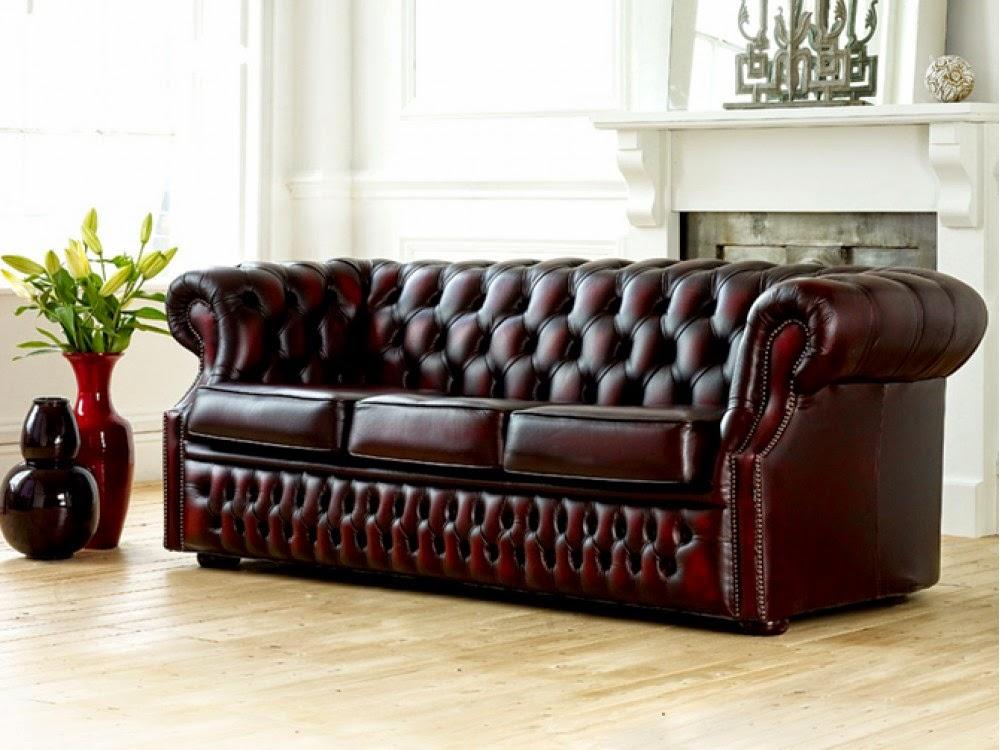 Teñido Muebles de Cuero-Restauracion-Reparacion: Sofás Chesterfield ...