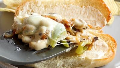 Easy Chicken Cheesesteak Recipe