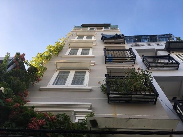 Căn hộ dịch vụ 10 phòng: hầm+5 tầng Tân Hưng, Quận 7
