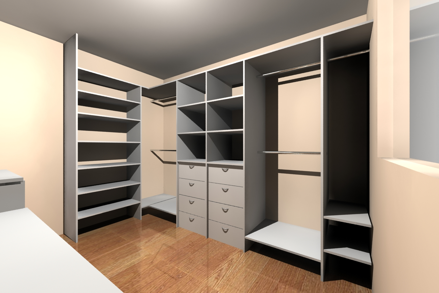 Aki Sus Muebles Akire Design: Walking Closet