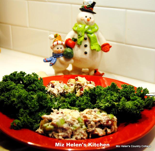 Cherry Nut Chicken Salad at Miz Helen's Country Cottage