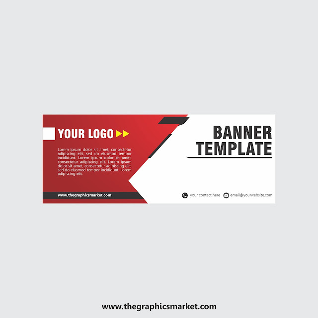 creative banner design template free download